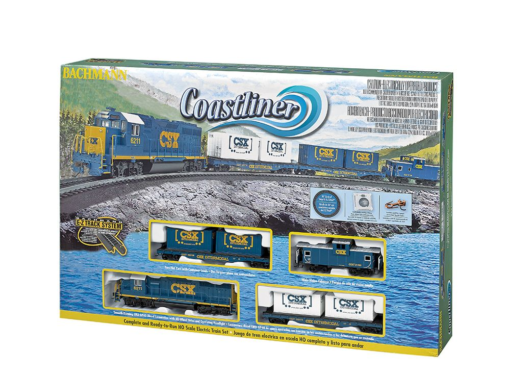 00734 CSX COASTLINER TRAIN SET HO