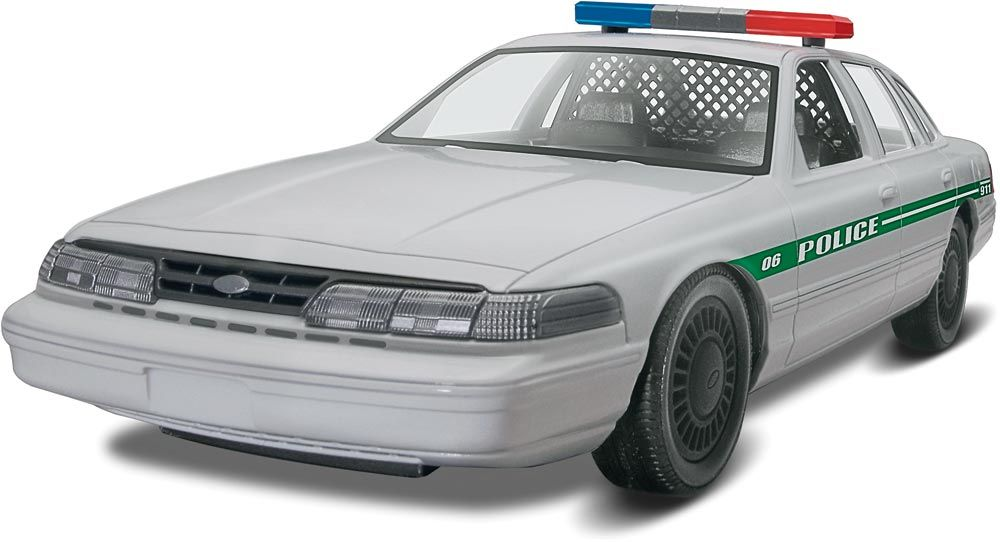 85-1688 FORD POLICE CAR 1:25 SCALE