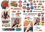 244 VINTAGE AIRLINE SIGNS HO