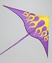 717 PURPLE NYLON SKY FIRE KITE