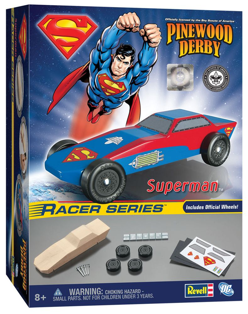 9404 SUPERMAN PINEWOOD DERBY
