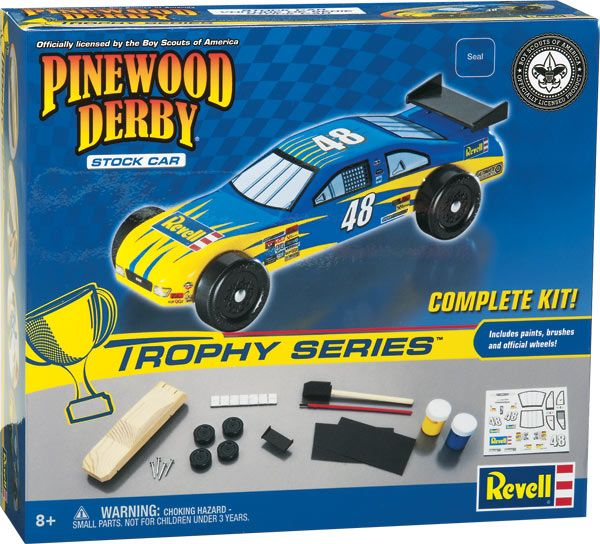 8643 PINEWOOD DERBY STOCK CAR