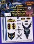 9405 BATMAN PEEL & STICK DECALS