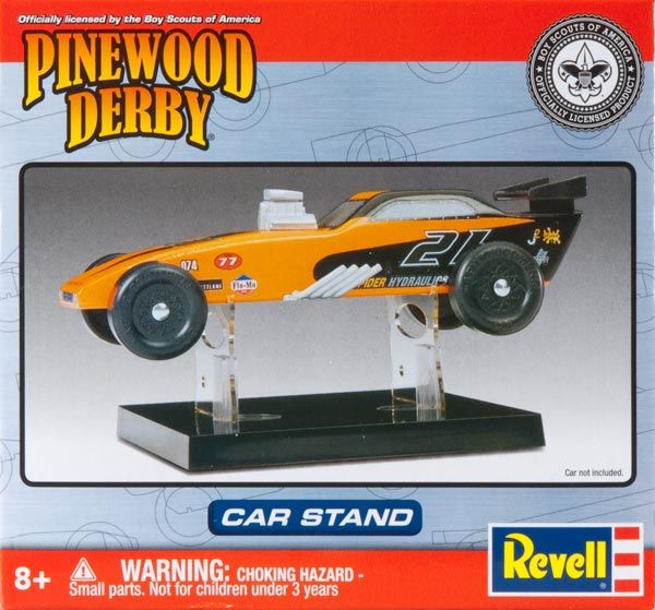 8668 PINEWOOD DERBY CAR STAND