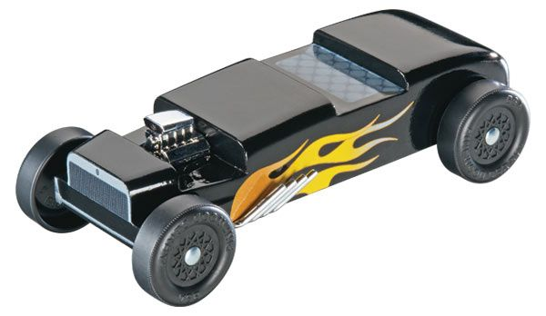 8641 PINEWOOD DERBY HOT ROD