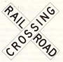 10200 RAILROAD CROSSING SIGN