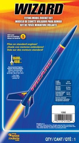 1292 WIZARD MODEL ROCKET