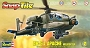 85-1183 AH-64 APACHE HELICOPT 1:72 SCALE