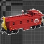 50002138 VERMONT RWY CABOOSE N