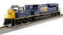 37-6372 CSX SD80MAC #4592 HO