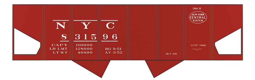 10032O NYC USRA HOPPER DECALS O