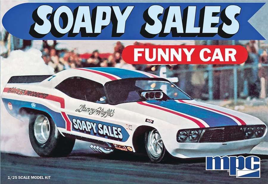 831 SOAPY SALES FUNNY CAR 1:25 SCALE