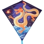15325 ASIAN DRAGON DIAMOND KITE