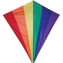 "15408 RAINBOW 30"" DIAMOND KITE"