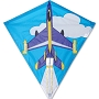 15445 JET PLANE DIAMOND KITE